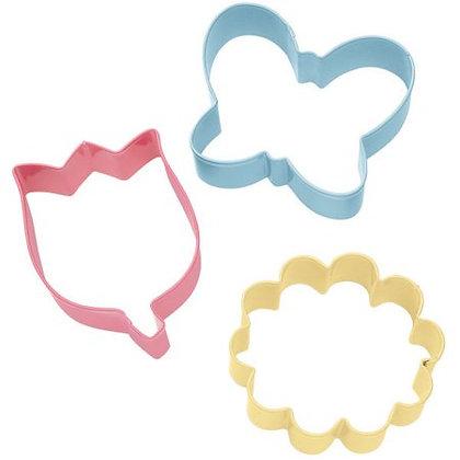 Wilton Flower Cookie Cutters Set/3