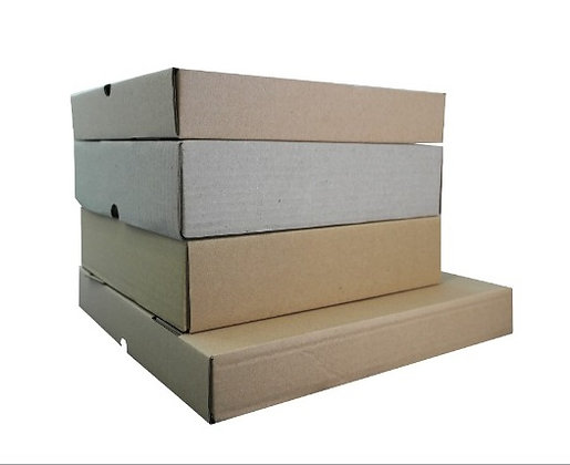 Brownie/ Pizza Box, 10 x 2.5(H) inch (Brown carton box)