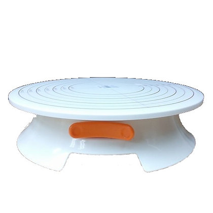 Cake Decorating Turntable with Lock
