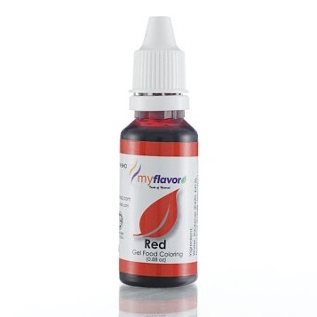 My Flavor Gel Paste Colour  0.88oz - Red