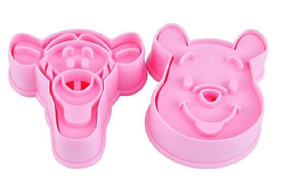 Pooh & Tigger Cutter/Embosser Set of 2