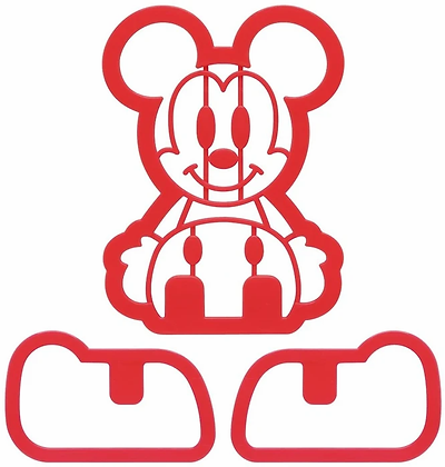 Mickey Mouse 3D Cookie/ Bread Cutter Set