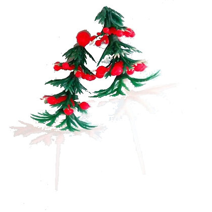 Christmas Tree Picks 5 pcs