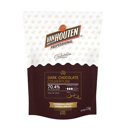 Van Houten Supreme Dark 70.4% 1.5KG