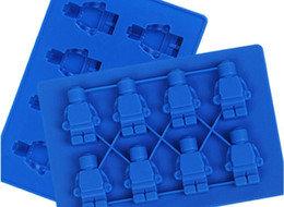 Lego Man 8s Silicone Mold