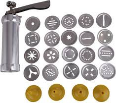 Cookie Press/ Maker, 24 designs