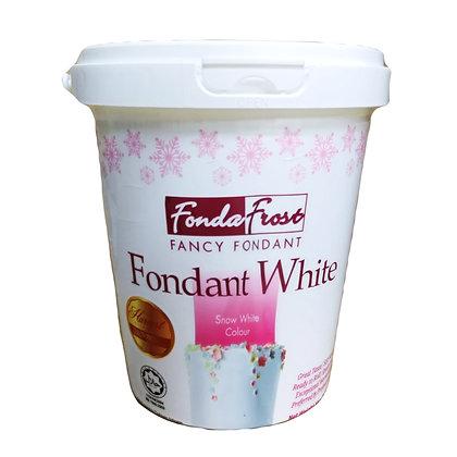 Fonda Frost Fondant 1kg, White