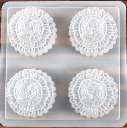 Jelly Mooncake Mold (Gold Fish)
