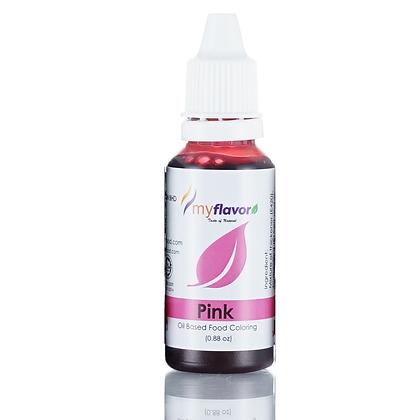 My Flavor Oil Based Color 0.88 oz - Pink