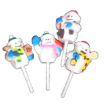 Snowman Cupcake/ Cake Picks 5 pcs