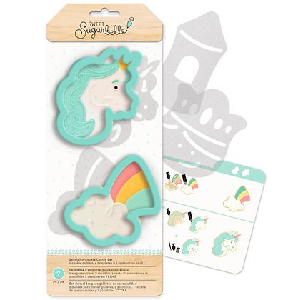 Unicorn & Rainbow Cookie Cutter Set of 2