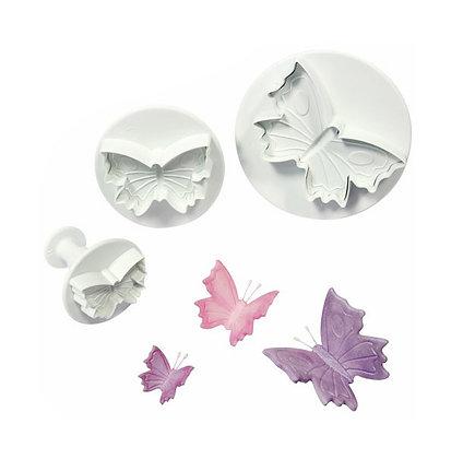 Butterfly Plunger Cutter Set of 3