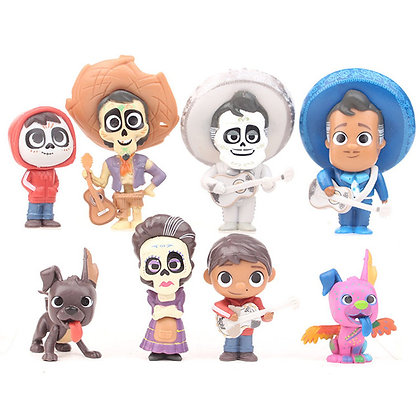 Coco Cake Topper Set of8