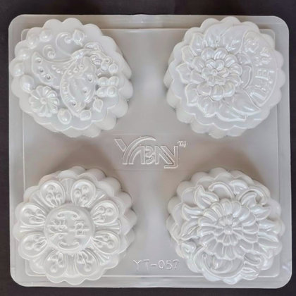 Jelly Mooncake Mold (Floral & Motif)