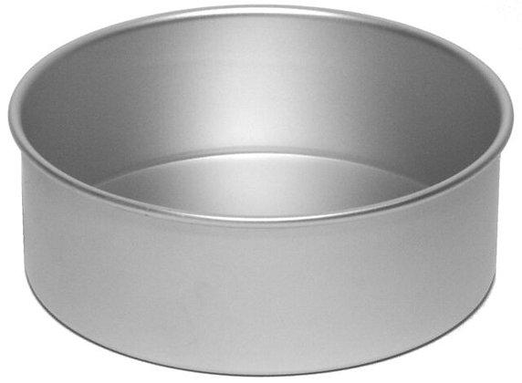 """9"""" / 22.5cm aluminium cake pan - 3"""" deep"""