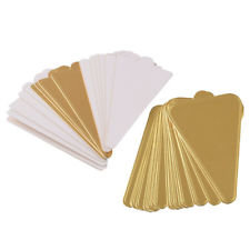 Mini Cake Boards, Triangular (Gold) 11 cm, 20s