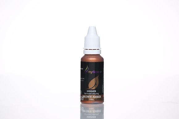 My Flavor Shimmer Color 0.88oz, Brown Amber