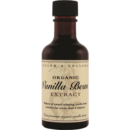 Taylor & Colledge Organic Vanilla Bean Extract 100ml
