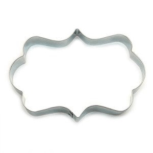 Cake Connection Cookie Cutter: Frame, Rectangular Rounded 3""