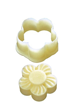 Pineapple Tart Mold, 5-Petal Blossom Design No. 120