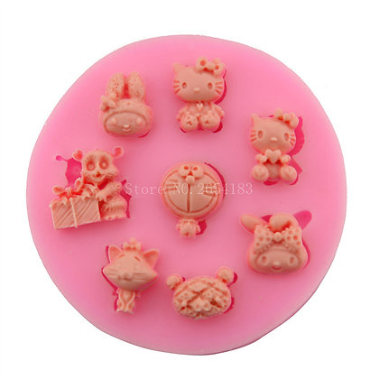 Hello Kitty/Doraemon/My Melody Silicone Mold