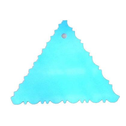 """Triangular Icing Decorating Comb 4-2/8"""""""