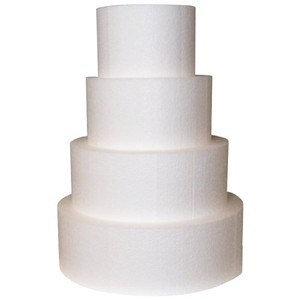 Cake Dummies, Round 6 x 3 (H) inch