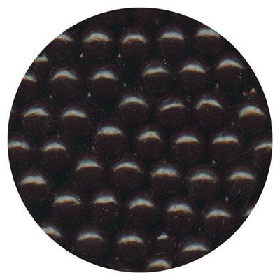 7mm Black Sugar Beads 80g