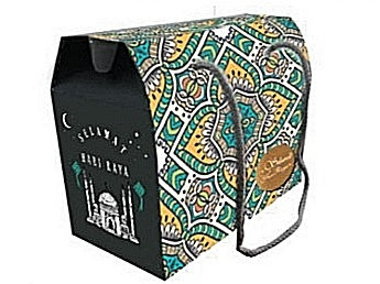 Raya Packaging Box, Motif with String
