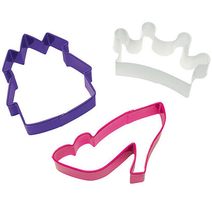Wilton Princess Cookie Cutters Set/3