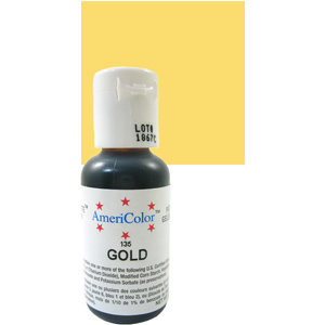 Americolor Gel Gold 0.75 oz