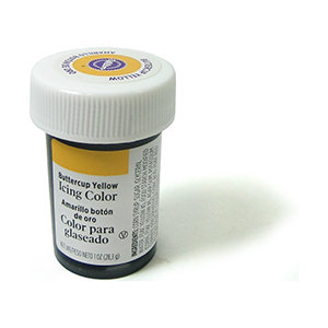Wilton Icing Color 1oz - Buttercup Yellow