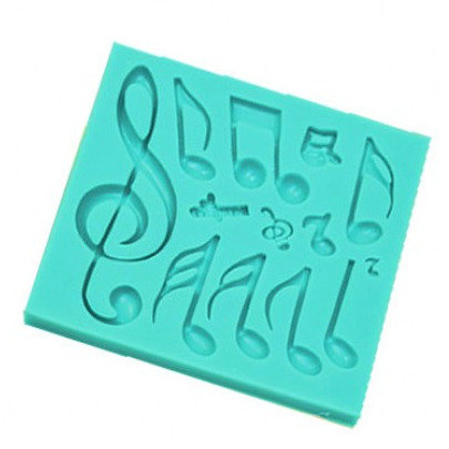 Music Note Silicone Mold