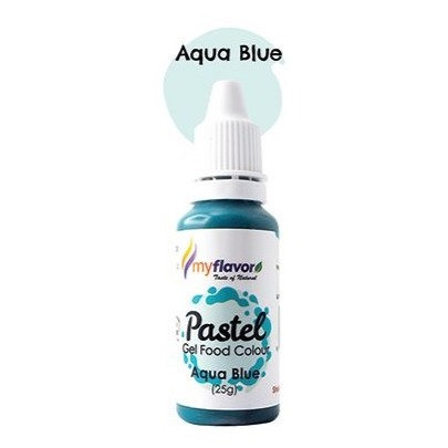 My Flavor Pastel Gel Colour  0.88oz - Aqua Blue