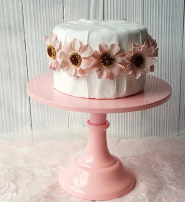 Cake Stand, Pink 25 cm