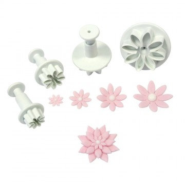 Daisy Plunger Cutter Set of 4