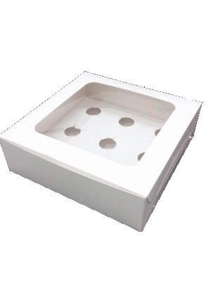 Cupcake Box 9 cavity with window