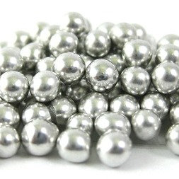 7mm Silver Dragees 80g