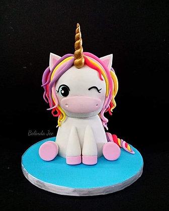 3D Unicorn Cake Class