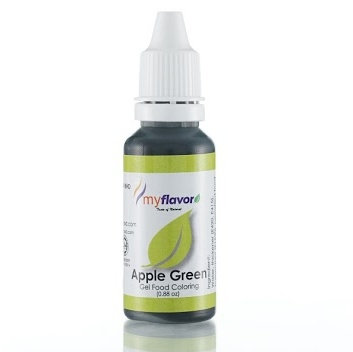 My Flavor Gel Paste Colour  0.88oz - Apple Green