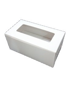 Cupcake Box 2 cavity with window