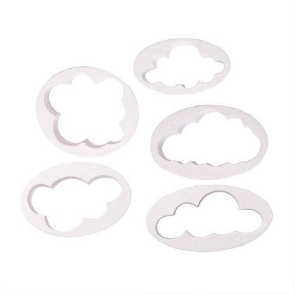 Cloud Cutter Set of 5