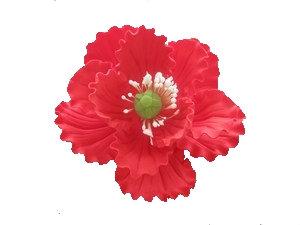 Summer Poppy, Red 4 inch