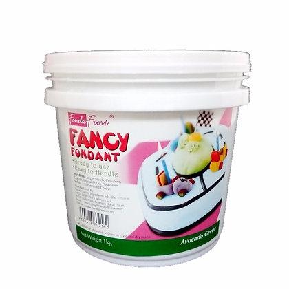 Fonda Frost Fondant 1kg, Avocado Green