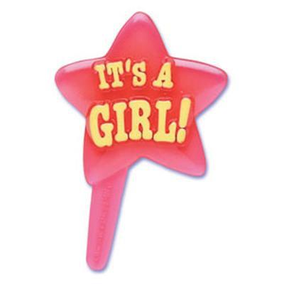 """It's A Girl!"" Cupcake Picks"