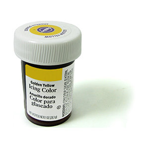 Wilton Icing Color 1oz - Golden Yellow