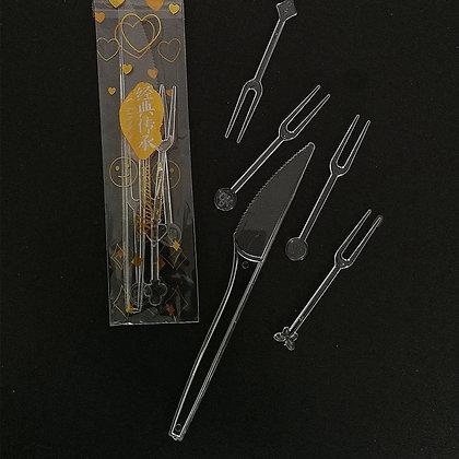 Knife & Fork Set, 10 sets/pack