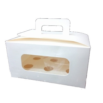 Cupcake Box 6 cavity with handle