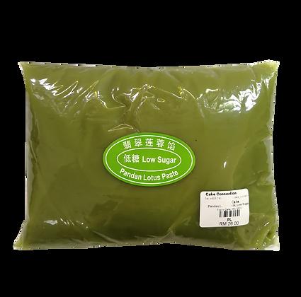 Pandan Lotus Paste 1kg, Low Sugar