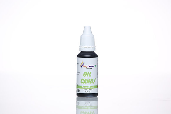 My Flavor Oil Candy 0.88oz - Apple Green